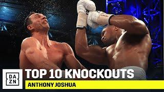 The Top 10 Ko's Of Anthony Joshua's Career