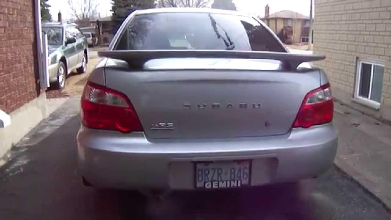 Subaru Impreza Sedan Jdm Rear Wiper Youtube