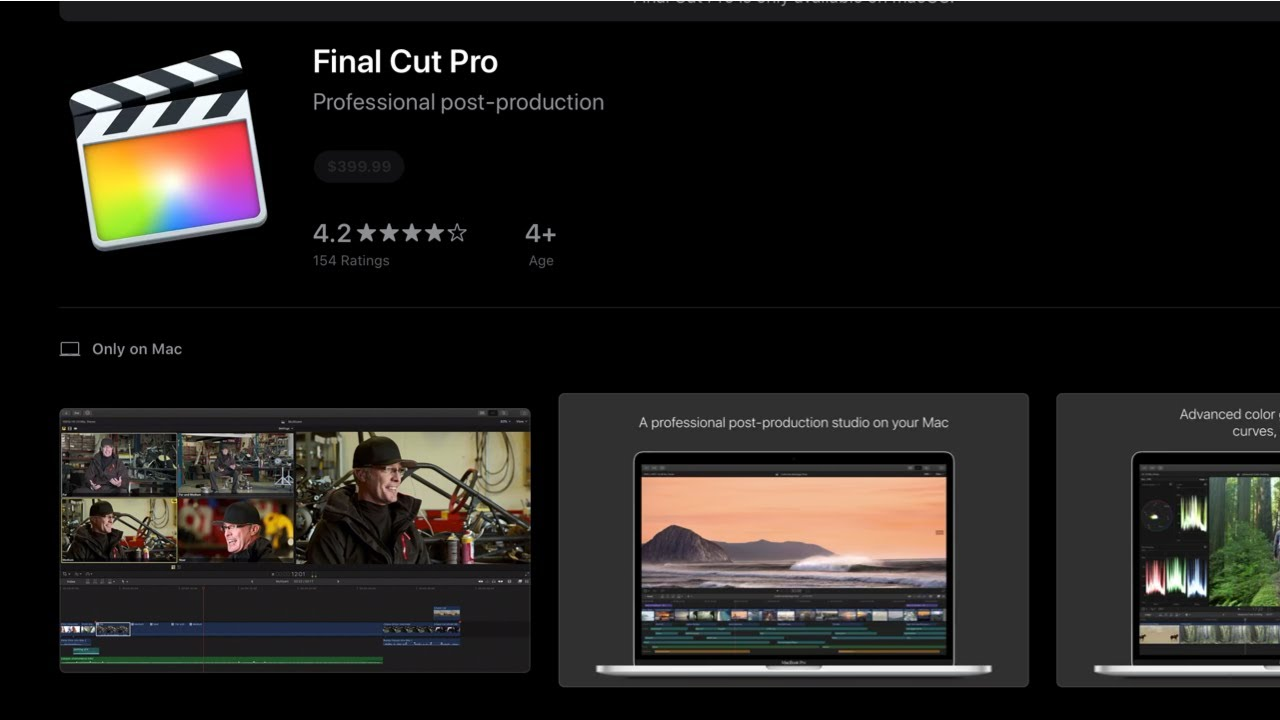 Can I Download Final Cut Pro On Macbook Air