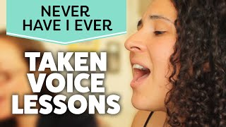 Horrible Singer Takes Voice Lessons | Never Have I Ever
