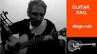 Guitar Rag Merle Travis Instrumental x Diego Ruiz - taylor gs mini acoustic guitar