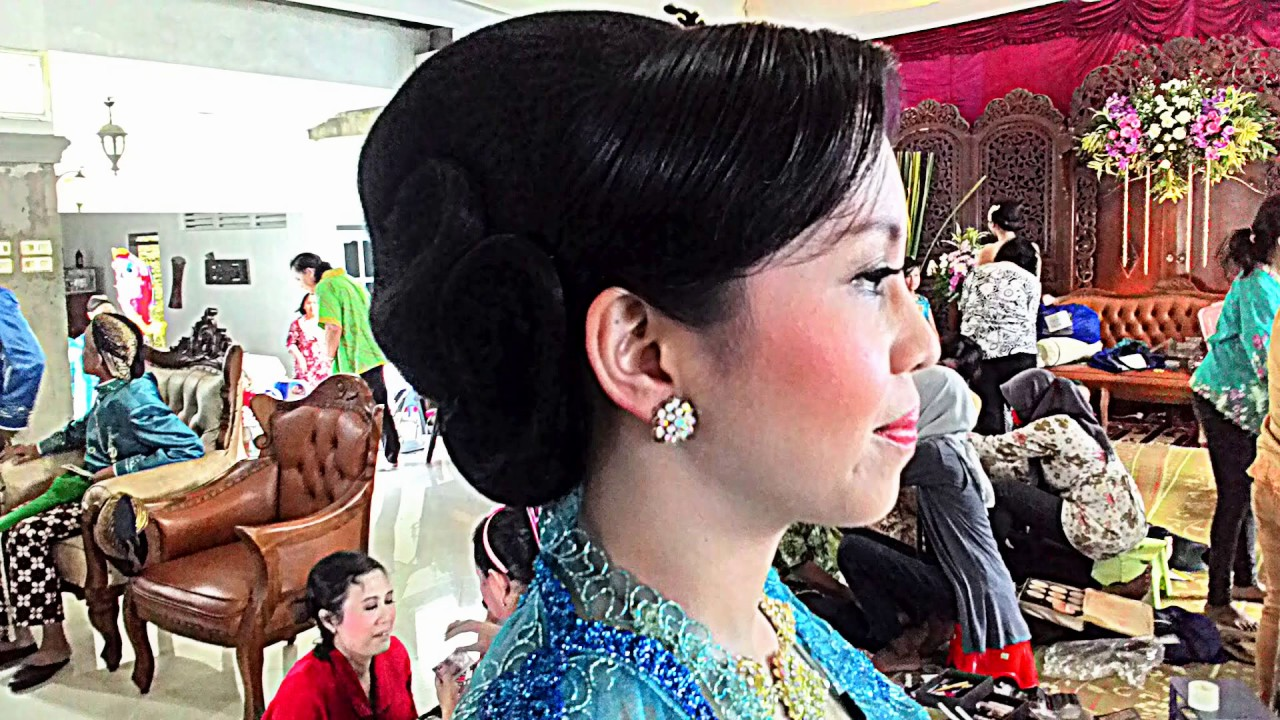Model Sanggul Modern Pengantin Youtube