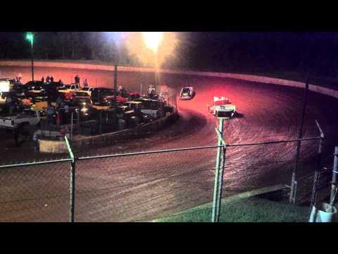 FWD 2nd Heat- 8•24•13- Laurens County Speedway