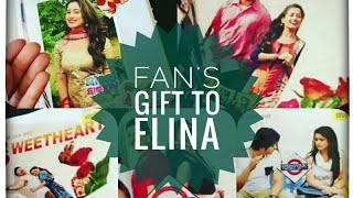 ELINA SAMANTARAY GOT EMOTIONAL || A FAN'S GIFT TO ELINA