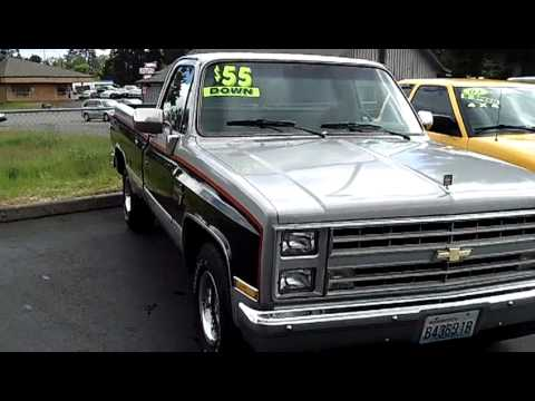 1985 Chevrolet Silverado (Stk# 72177) - YouTube