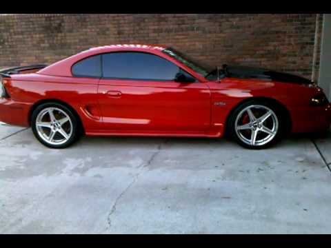 98 Mustang Gt >> 98 mustang gt x pipe - YouTube