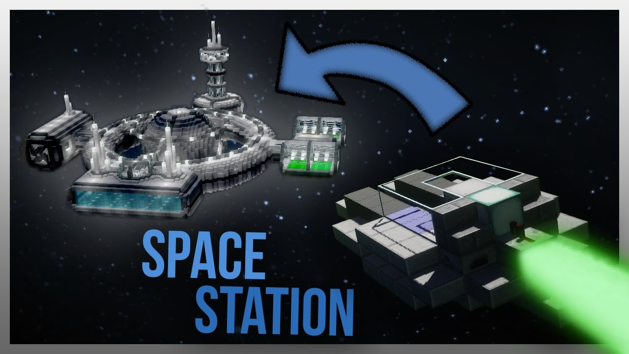 Travelling to a space station in minecraft youtube gumiabroncs Choice Image