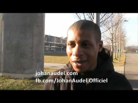 Johan Audel : message au VAFC et aux supporters poster