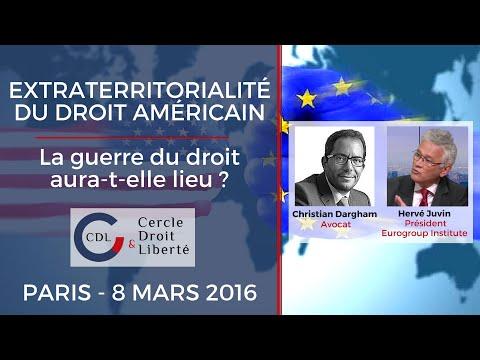 [DÉBAT] Extraterritorialité du droit US avec Hervé Juvin et Christian Dargham