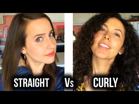 Thumbnail: Curly Hair Struggles