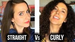 Curly Hair Struggles