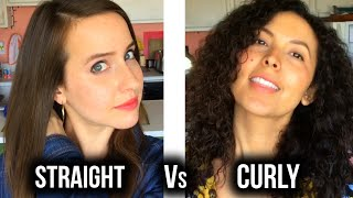 Curly Hair Struggles