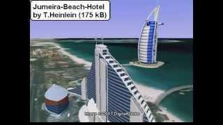 3d-models (SketchUp) Dubai : Burj Al Arab et al.