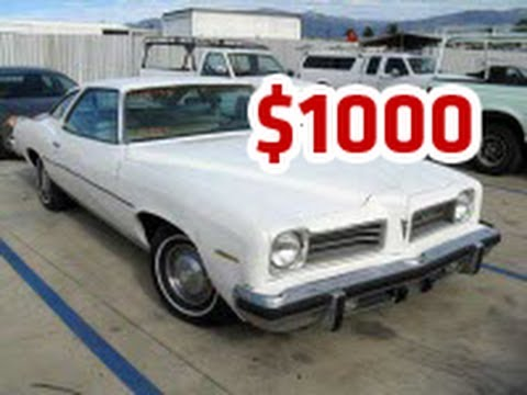 Cheap Used Cars For Sale Under  Dollars