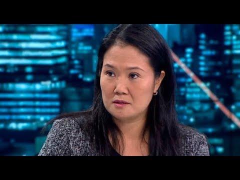 Keiko Fujimori: 'Voy a defender mi apellido y mi honor' | Punto Final