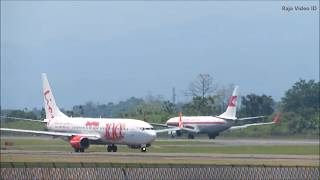 Download lagu Nonton Pesawat Landing dan Take Off di Bandara Sultan Hasanuddin Makassar, Video Pesawat Terbang