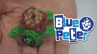 How to make loom bands - Blue Peter Shelley the Tortoise Charm