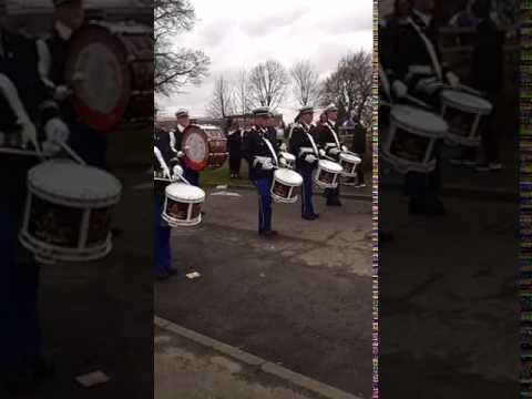Armadale Flute Band in Whitburn!