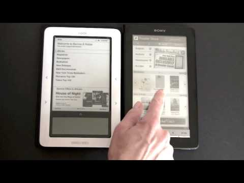 Barnes & Noble Nook Video Review