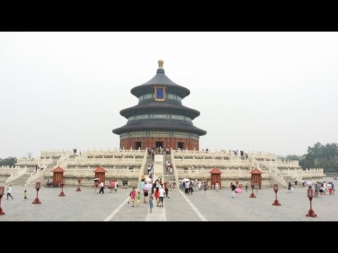 2016 China Trip Day 14 in The Temple of Heaven & The Great Wall, Beijing China