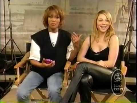Mariah Carey And Whitney Houston Vh1 Countdown FULL Version
