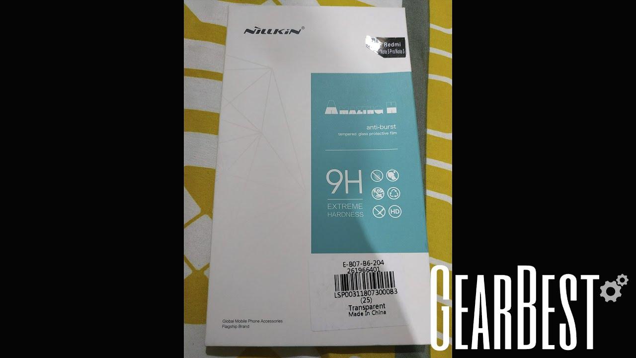 Nillkin Tempered Glass Lens Film For Xiaomi Redmi Note 5 Pro Cafele Original Transparent