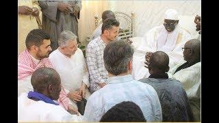 """Une délégation de l'ONG Turque """" La voie de la Charité """" chez le Khalif Général des Mourides"""
