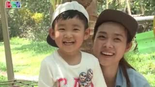 Diệp Bảo Ngọc cùng con trai MInh Khang chiến thắng áp đảo trước Thùy Dương cùng con gái Long Giao.