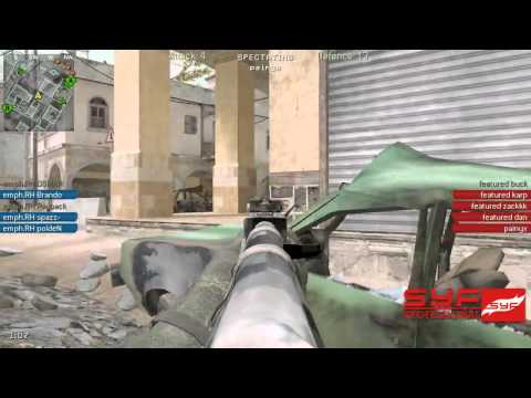 SYF.TV Presents: CGi CoD4 / Emphatic vs Featured Gaming