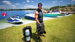 How To Be A YouTube TREASURE Hunter!! (truck+ski whats inside?) VR180  | Jiggin' With Jordan