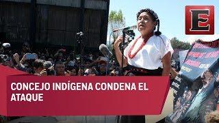 Denuncian ataque a caravana de Marichuy en Michoacán