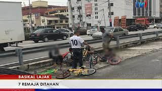 BASIKAL LAJAK - 7 REMAJA DITAHAN [9 SEPT 2017]