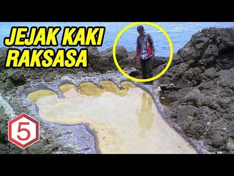 DITEMUKAN 5 JEJAK KAKI RAKSASA DI INDONESIA !
