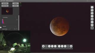 January Lunar Eclipse Blood Moon video compressed to 6 minutes Music Moonlight Sonata Beethoven