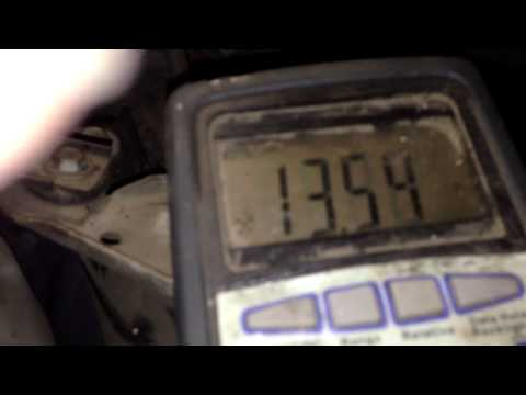 Alternator not charging diagnosis How to Fix it Pontiac Montana
