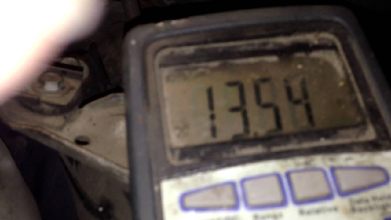 Alternator not charging diagnosis how to fix it pontiac montana youtube