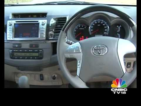 2012 Toyota Innova Amp Fortuner First Drive Youtube