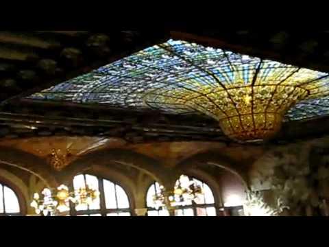Interior Palau de la Música Catalana