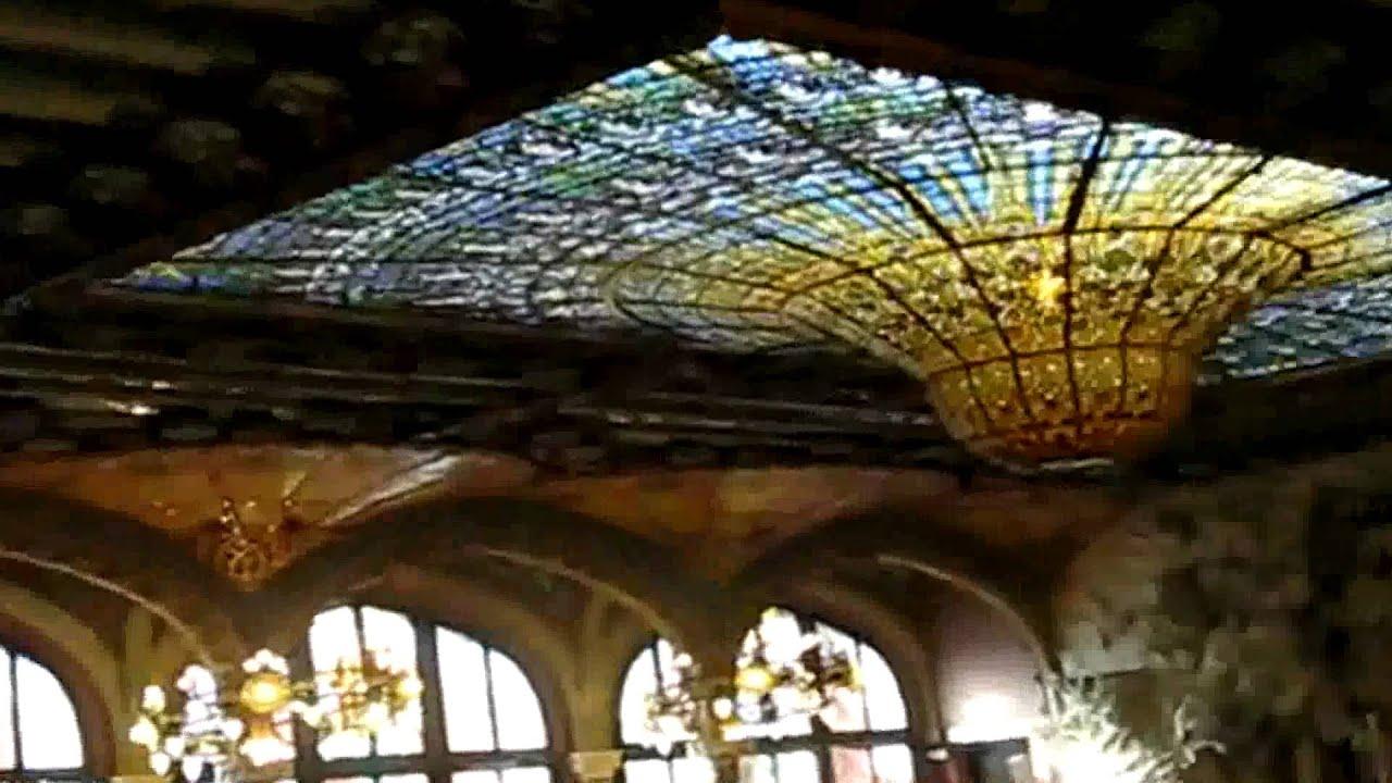 Interior Palau De La Música Catalana Youtube