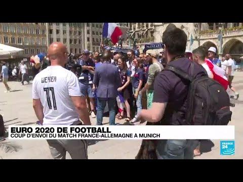 Euro-2021 de football : coup d'envoi du match France-Allemagne à Munich