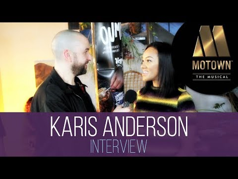 Stooshe Singer Karis Anderson on her Diana Ross Role in Motown The Musical