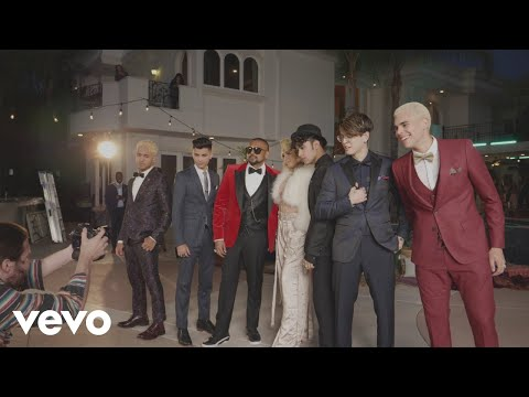 CNCO, Meghan Trainor, Sean Paul - Hey DJ (Remix) [Behind the Scenes]