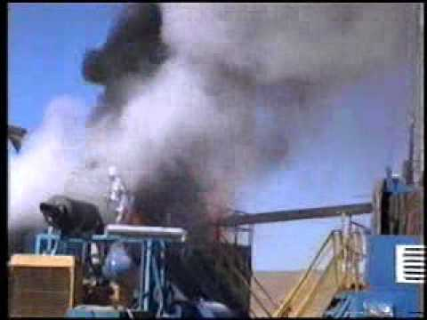 Fire on Rig