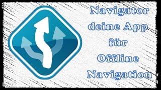 Navi-App die auch Offline gut funktioniert