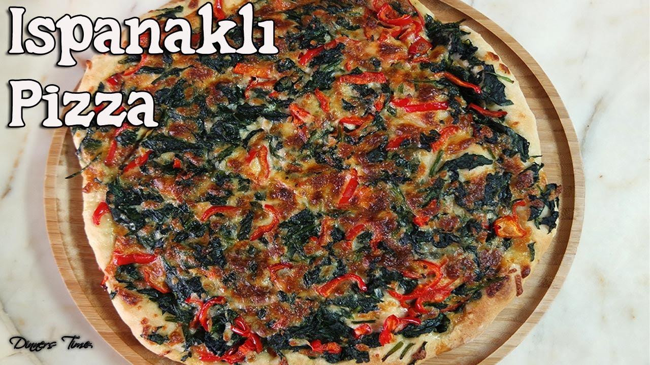 Pratik Ispanaklı Pizza(Easy Pisa with Spinach) - YouTube