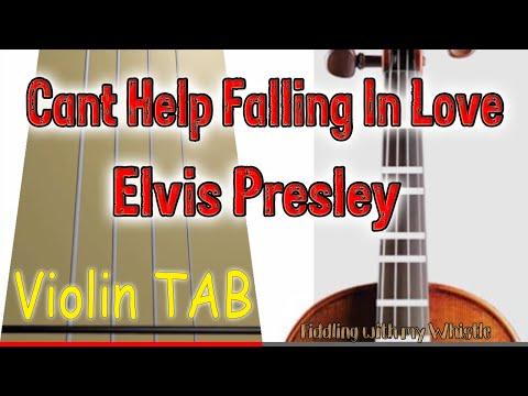 Can't Help Falling In Love (Cover) Elvis Presley - Violin Cover - Tab Tutorial