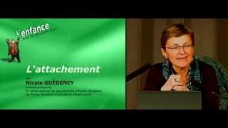 La conférence de la pédopsychiatre Nicole Guédeney sur l'attachement - AVEC DIAPOS