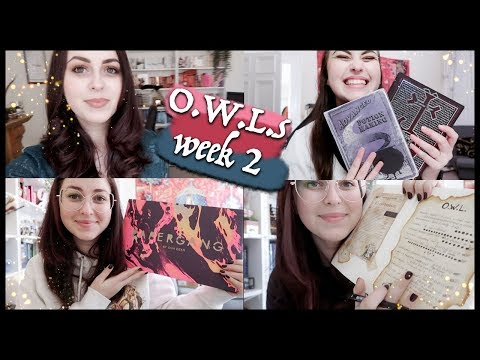 O.W.L.s Magical Readathon week 2: Magical books, weekend reads