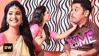 Nenjam Marappathillai Serial Heroine Sharanya In K SS Me 😘 HUG Me 💖 And SLAP Me 👊 Game  KHS
