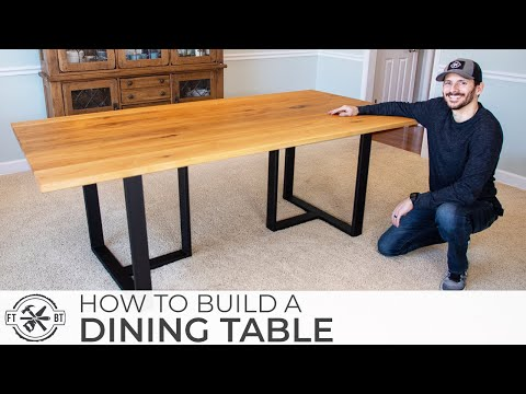 how-to-build-a-modern-dining-table-|-diy-woodworking-&-welding